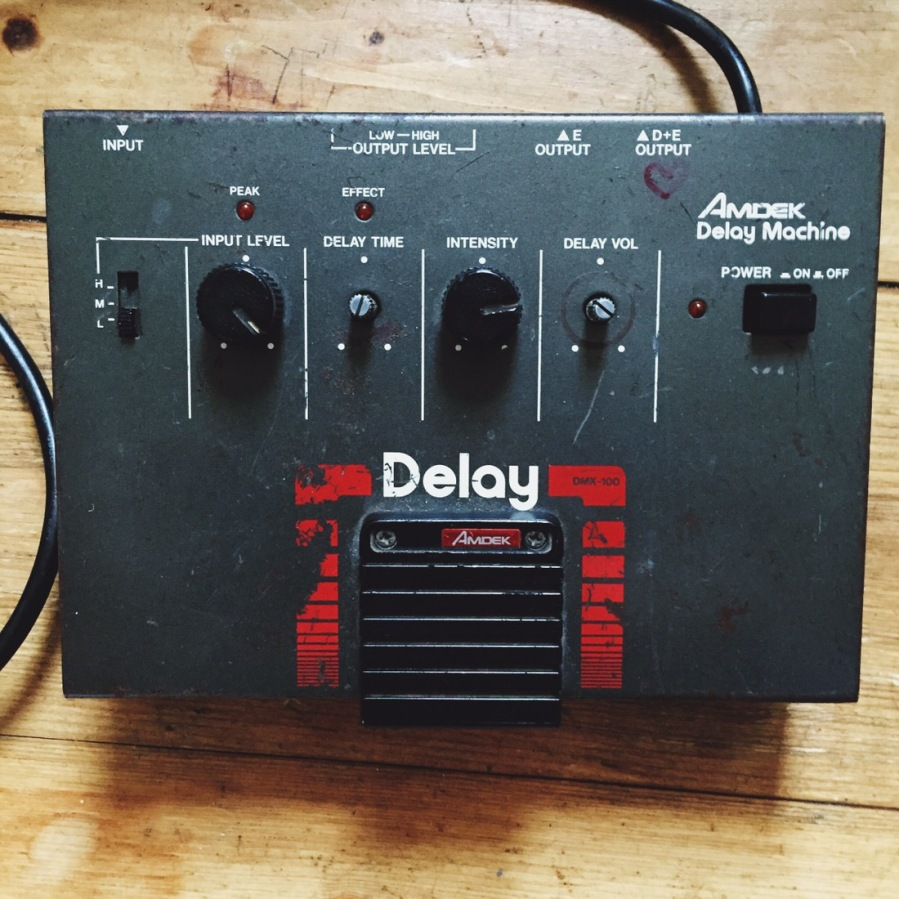 Amdek – DMK-100 Delay Machine