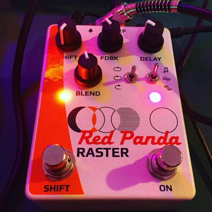 Red Panda Lab Raster Delay Pedal