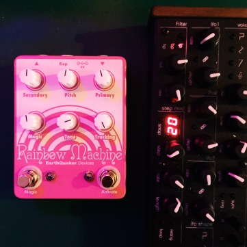 Earthquaker Devices Rainbow Machine and Twisted Elektrons TherapSID